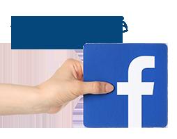 F�lg oss p� Facebook