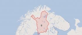Lappland blir rød