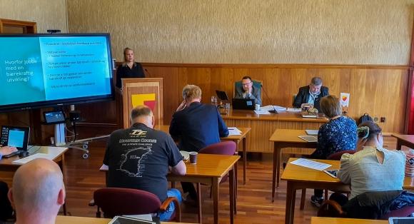 Ønsker å informere kommunestyret om bærekraftsprosjektet