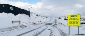 Kamøyværveien blir ikke åpnet mandag