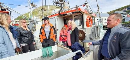 Møter kvinnelige fiskere om likestilling
