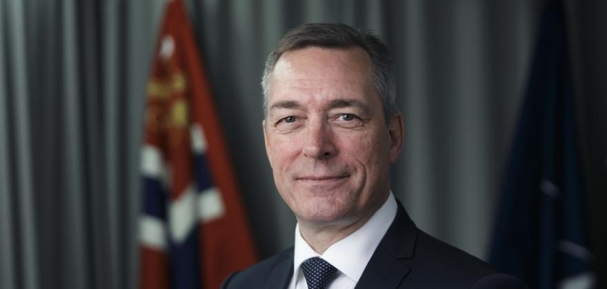 Bakke-Jensen presenterer statsbudsjettet i Tromsø