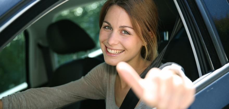 Økning i antall personer som tar førerkort