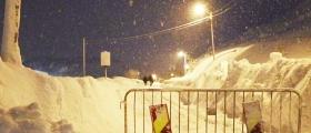 Ingen spor i snøen i Holmbuktveien