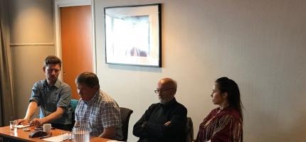 Olli setter pris på engasjementet i Nordkapp-saken