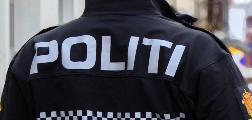 Politiet avskiltet et kjøretøy