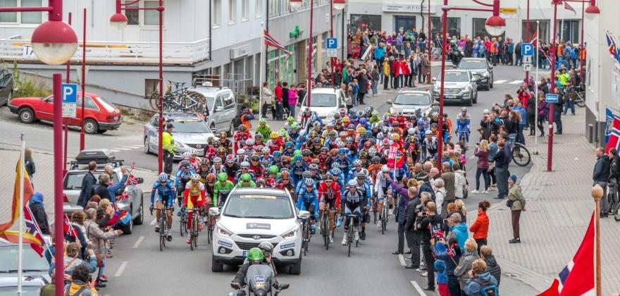 Arctic Race of Norway syklet inn millioner til Nord-Norge