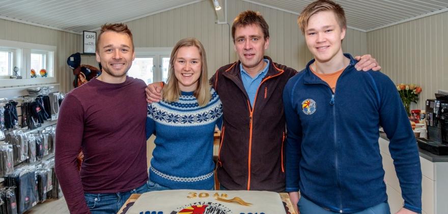 Feiret 30-årsubileet til Nordkapp Camping AS