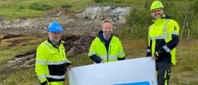 Nye Veiers første prosjekt i Nord-Norge har startet opp