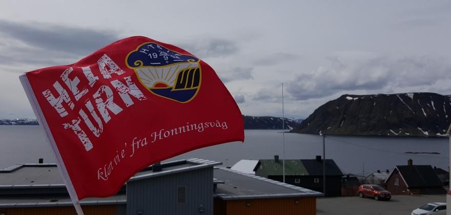 Honningsvåg mot Hammerfest