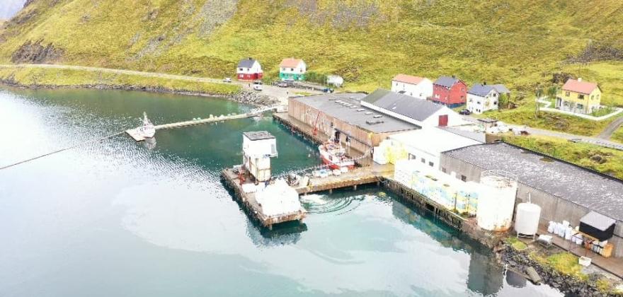12 000 liter kan være lekket ut fra tanken i Kamøyvær