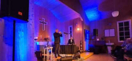 Jubileumsgudstjeneste i Skarsvåg kirke