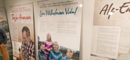 Åpnet utstilling hos Nordkappmuseet