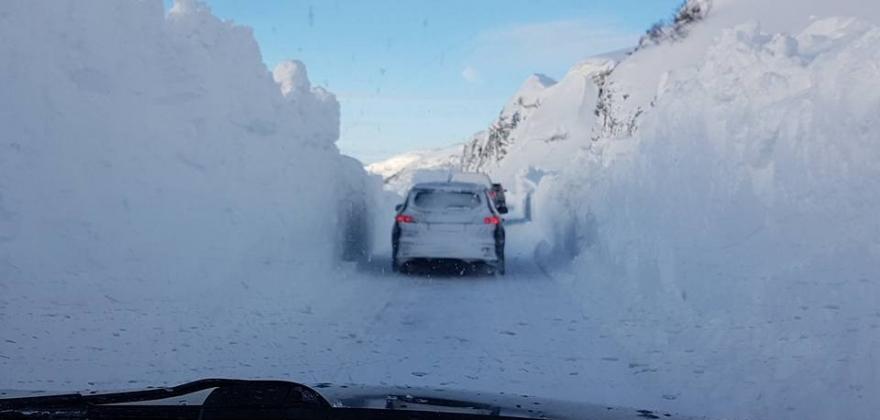 Økende snøskredfare i Vest-Finnmark