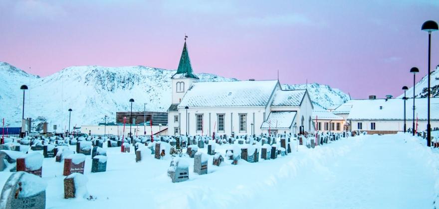 En hyggelig førjulsettermiddag i Honningsvåg kirke
