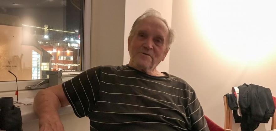 Ottar Olsen forteller om sine opplevelser