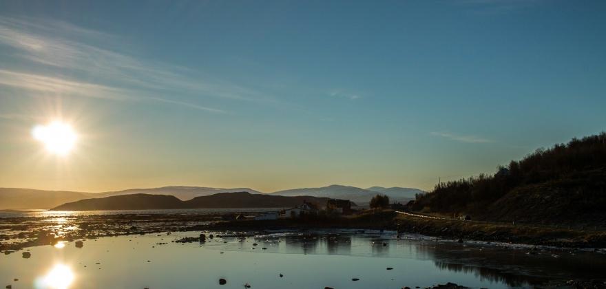 Banak og Nuvsvåg: 25,4 grader i august