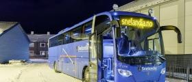 Rutebussen snudde