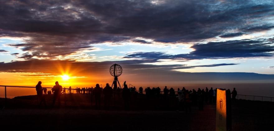 Nordkapp-turen er den mest populære utflukten