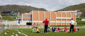 The Liverpool Way Fotballskole i Honningsvåg