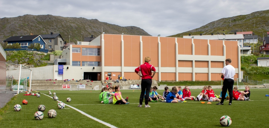 The Liverpool Way Fotballskole i Honningsvåg