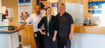 40-årsjubileum for Honningsvåg lufthavn