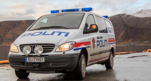 Gjester knuste glass i Honningsvåg