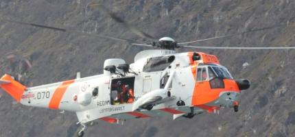 Helikopter sikrer akuttberedskapen