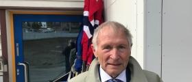 Nilsen reagerer på mangel på flagg i Honningsvåg