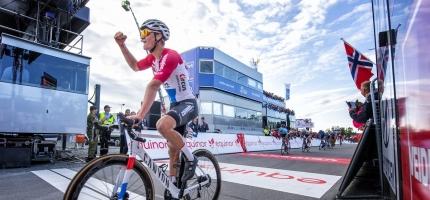 Van der Poel vant første etappe i Arctic Race of Norway