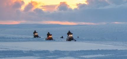 Snøscooterløyper i Nordkapp på høring
