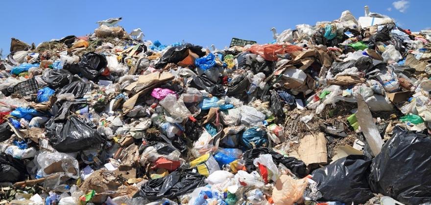 Avfallet øker like mye som BNP