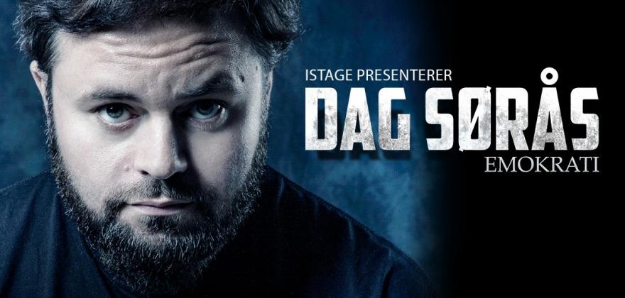 Nesten utsolgt på Dag Sørås-show