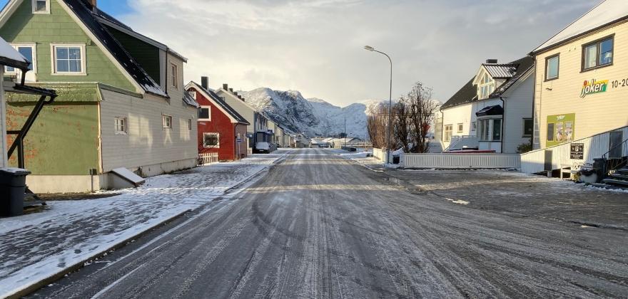 Glatte veger i hele Finnmark