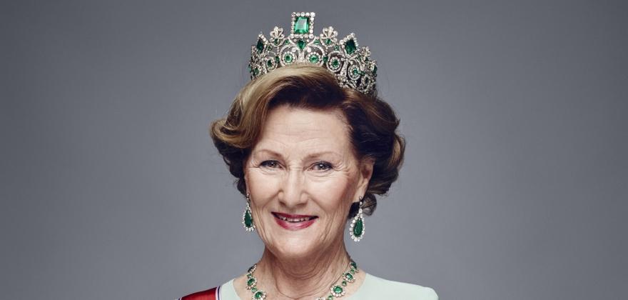 H.M. Dronning Sonja er høy beskytter for årets TV-aksjon