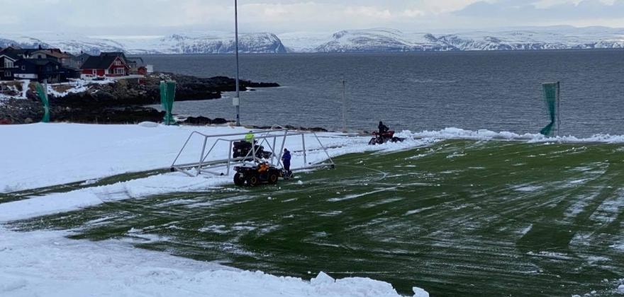 Mye nedbør i Øst-Finnmark i mai