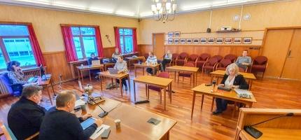 Tertialrapport nummer 2 i formannskapet