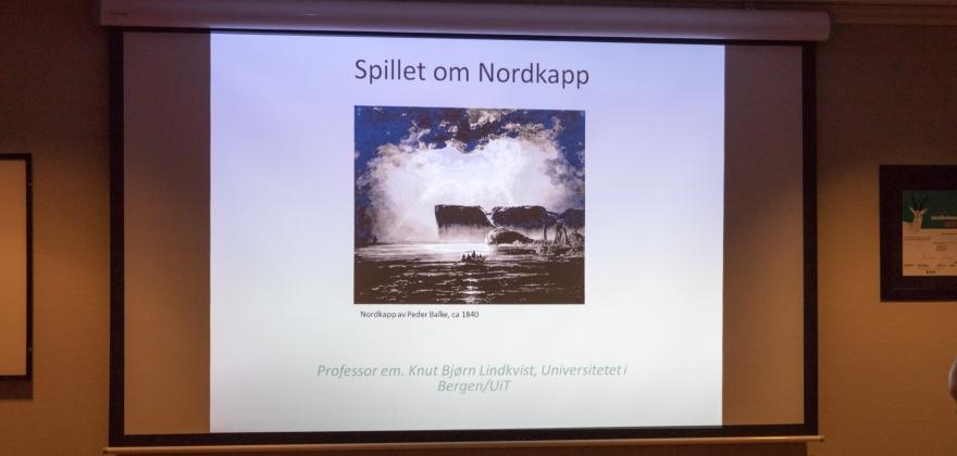 SV arrangerte møte om Nordkapp-halvøya
