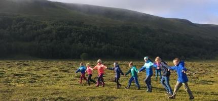 46 barn deltok på Friluftsskolen Aktiv Sommer