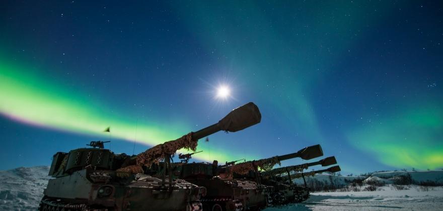Ønsker økte midler i statsbudsjettet 2019 til etablering av styrker på Porsangmoen