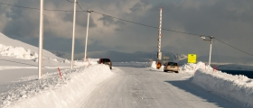 Vegen til Honningsvåg stengt nesten 100 ganger