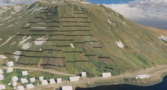 Skredsikring av Holmbukt koster 100 millioner kroner