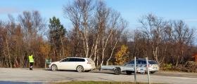 Fikk kjøreforbud under kontroll i Lakselv