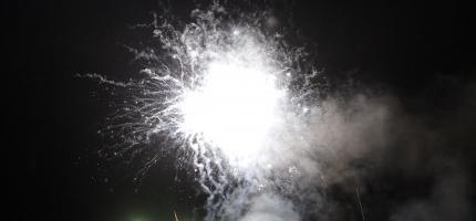 Fantastisk fyrverkeri i Honningsvåg – se filmen