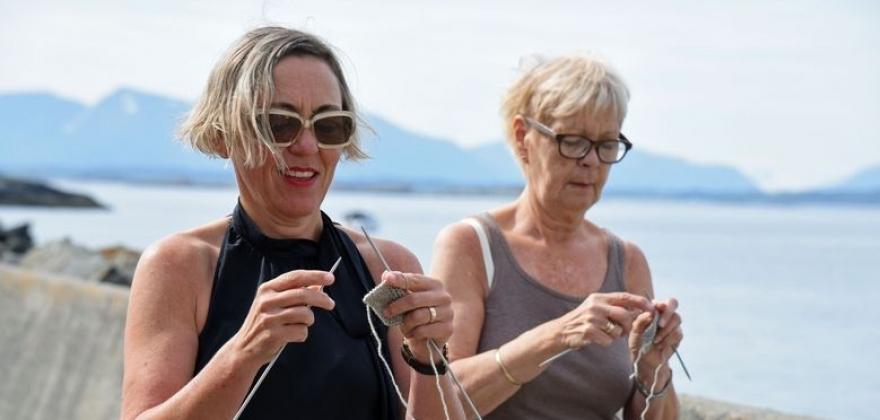 NM i gåstrikk i Finnmark