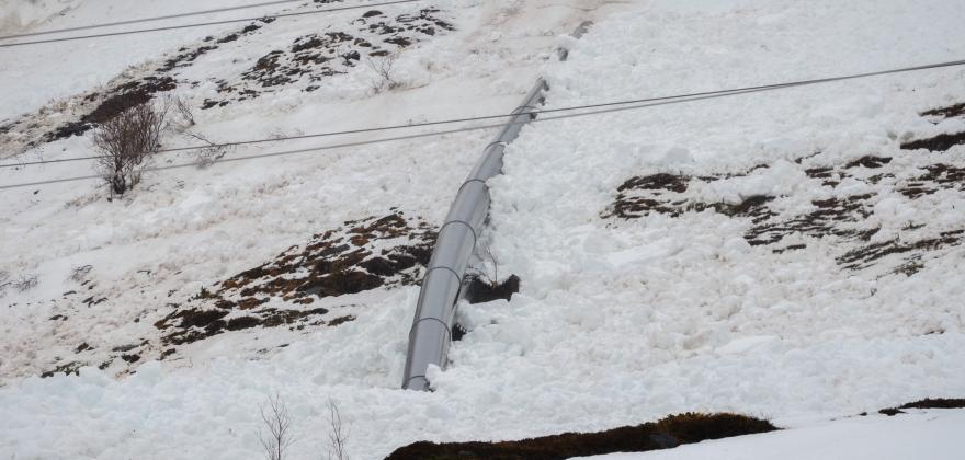 Satellitter skal gi bedre snøskredvarsler