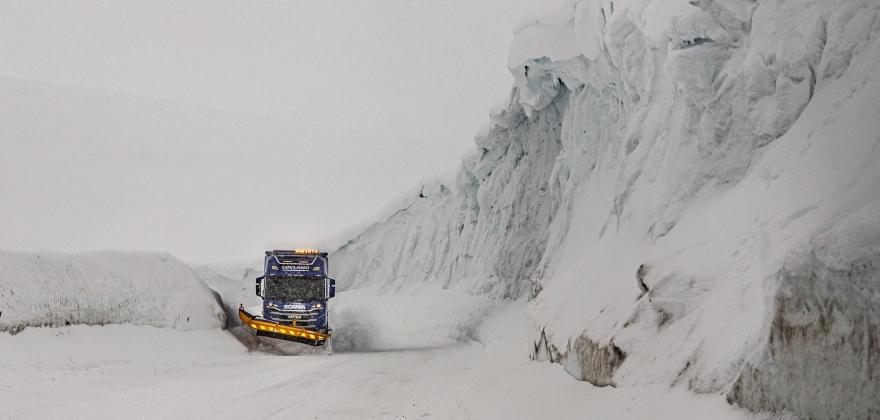 Brøytekontrakten fra Kautokeino til Nordkapp ute på anbud