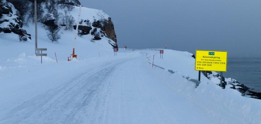Er i gang med å åpne veien til Magerøya