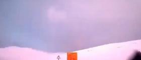 Lynet slo ut bommen i Skarsvåg-krysset – se film av værfenomenet