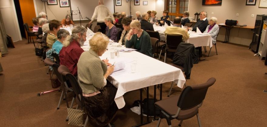 Årsmøte i pensjonistforeningen